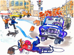 Картинки профилактика детского травматизма зимой